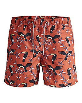 Jack & Jones Boys Printed Swimshorts