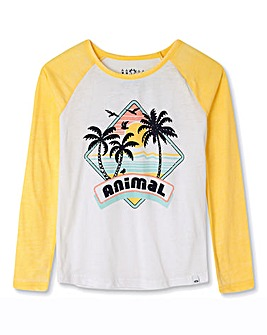 Animal Girls Holliday L/S T-Shirt