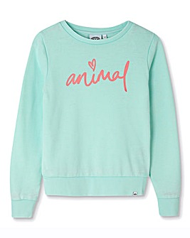 Animal Girls Mila Crew Neck Sweatshirt