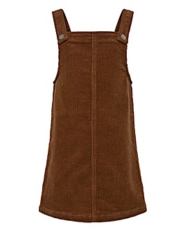 Only Girls Cord Pinafore Dress