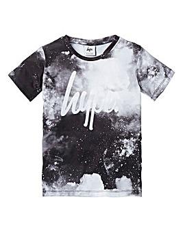 Hype Boys Monochrome Space T-Shirt