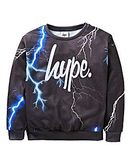 Hype Boys Lightning Sweatshirt