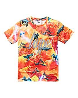 Hype Boys Predator Print T-Shirt