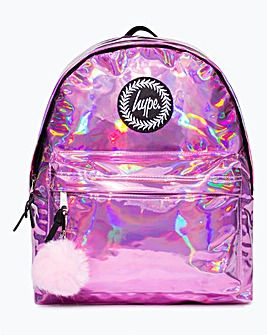 Hype Holographic Backpack