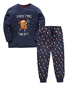Threadboys Christmas Turkey Pyjamas