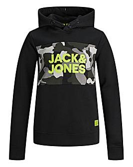 Jack & Jones Boys Camo Print Hoodie