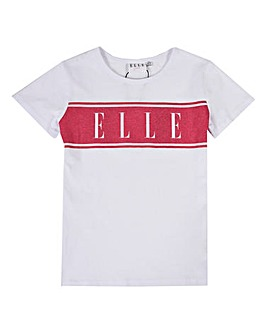 Elle Girls Logo Print T-Shirt