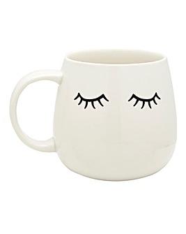 Eyes Shut Mug