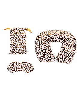 Leopard Love Travel Eye Set