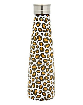 Leopard Love Metal Water Bottle