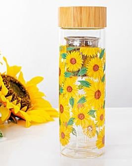 Sass & Belle Sunflowers Water Bottle