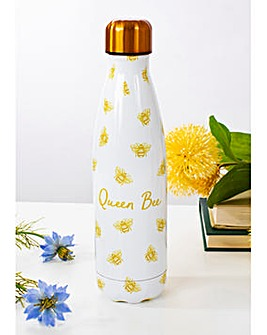 Sass & Belle Queen Bee Metal Water Bottle