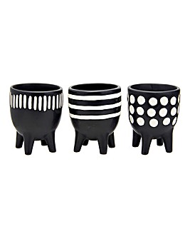 Scandi Boho Little Planters on Legs