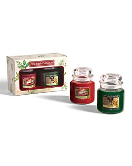 Yankee Candle 2 Medium Jar Candle Set