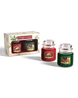 Yankee Candle 2 Medium Jar Candle Set