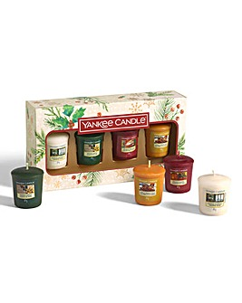 Yankee Candle 4 Votive Cande Gift Set