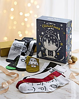 Harry Potter Sock Advent Calendar