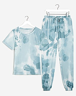 Pretty Secrets Short Sleeve Jogger Set