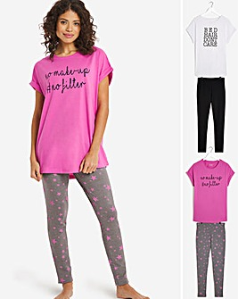 Pretty Secrets 2 Pack Value Legging Sets
