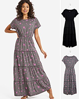 Pretty Secrets Value 2 Pack Smock Nighties