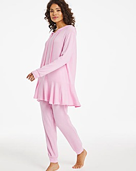 Pretty Secrets Frill Hem Hoodie and Jogger Set