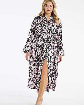 Pretty Secrets Satin Wrap Gown