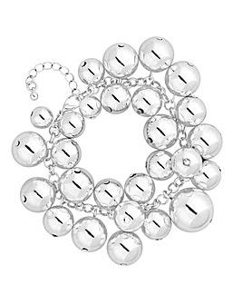 Mood Orb Cluster Statement Bracelet