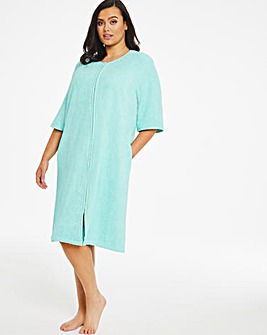 Pretty Secrets Towelling Zip Gown L42