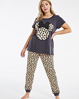 Minnie Mouse Leopard Legging Set
