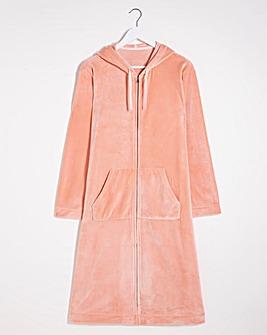 Pretty Secrets Velour Zip Gown