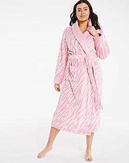 Pretty Secrets Shawl Collar Gown
