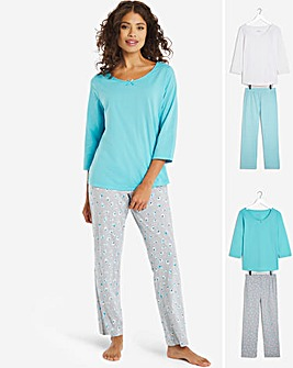 Pretty Secrets Pack of 2 Pyjama Sets 28