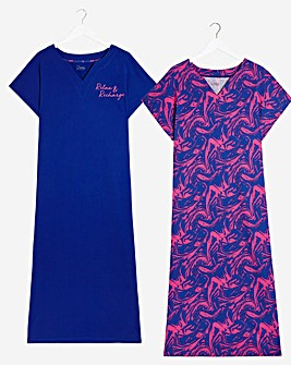 Pretty Secrets Value 2 Pk Maxi Nighties