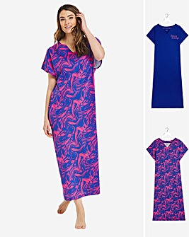 Pretty Secrets Value 2 Pack Maxi Nighties