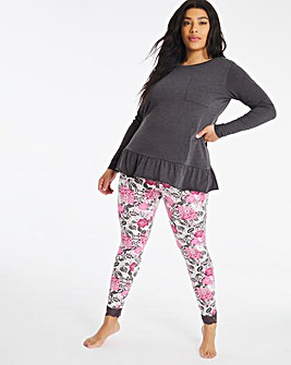 Pretty Secrets Peplum Tunic Legging Set