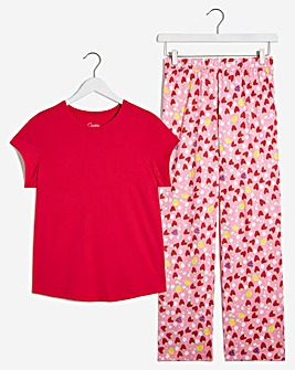 Pretty Secrets Jersey Value PJ Set