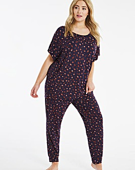 Pretty Secrets Slouchy Cuffed Pyjama Set