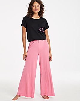 Pretty Secrets Value Wide Leg Pyjama Set