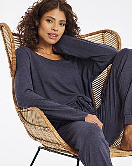 Pretty Secrets Cuffed Leg Pyjama Set