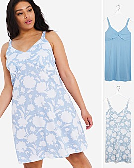 Pretty Secrets Value 2 Pack Midi Nighties