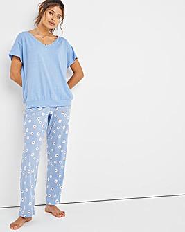 Pretty Secrets Lace Trim Pyjama Set