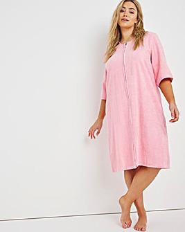 Pretty Secrets Towelling Zip Gown L48