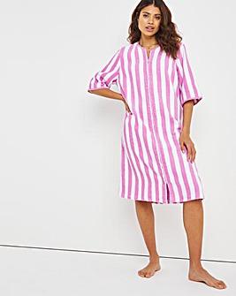 Pretty Secrets Towelling Zip Gown L43