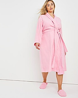 Pretty Secrets Value Towelling Gown and Slippers L48