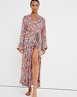 Pretty Secrets Viscose Wrap Gown L51