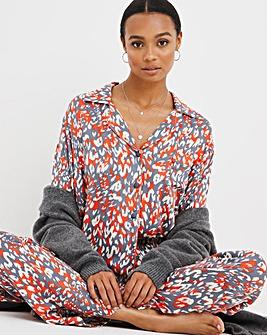 Pretty Secrets Button Through Viscose Pyjama Set