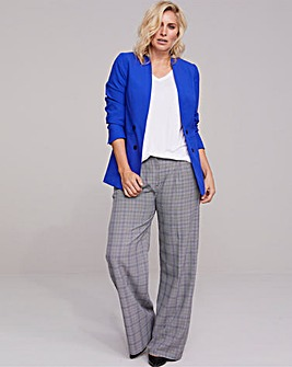 Edge To Edge Cobalt Fashion Blazer