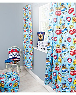 Paw Patrol Peek Curtains 54in