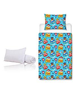 Paw Patrol Peek Junior Bed Bundle