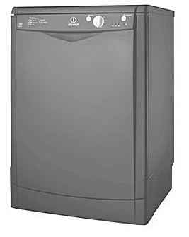 Indesit EcoTime DFG15B1K Fullsize Dishwasher Black